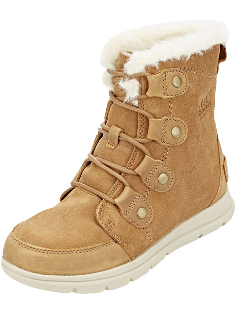 Sorel W's Explorer Joan Boots Camel Brown/Ancient Fossil